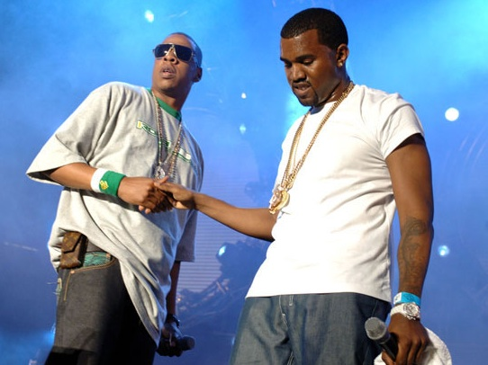 Jay-Z, Kanye West and Rihanna have joined forces like a three superheroes on