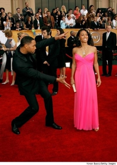 will smith wife red carpet. husband, Will Smith.