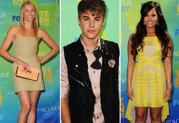 Nothing more than the 2011 Teen Choice Awards.