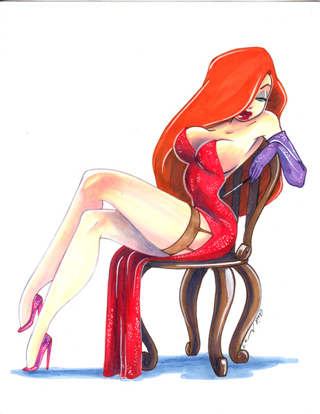 cartoon characters jessica rabbit. Yeah – the cartoon character! She got a breast lift, a face lift and a chin